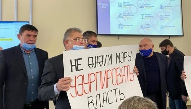 У Маріупольській міськраді депутати ОПЗЖ вчинили бійку