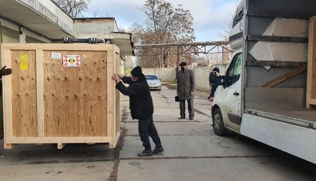 Херсон отримав обладнання зі Словаччини, що допоможе знезаражувати воду