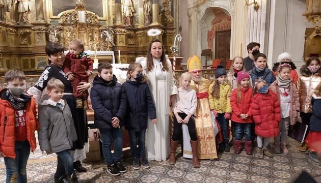 Святий Миколай відвідав українців у Будапешті