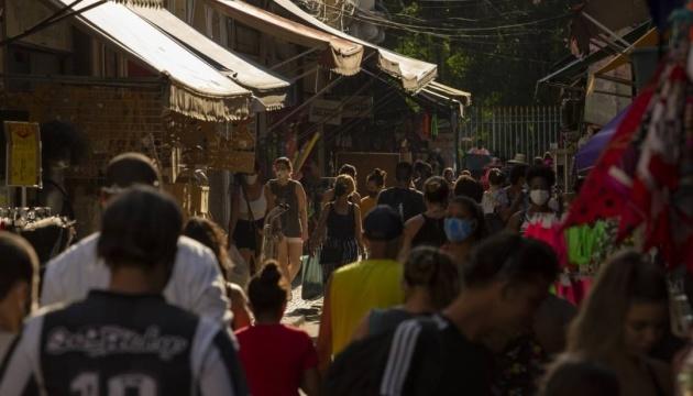 «Британський» штам коронавірусу дістався Бразилії