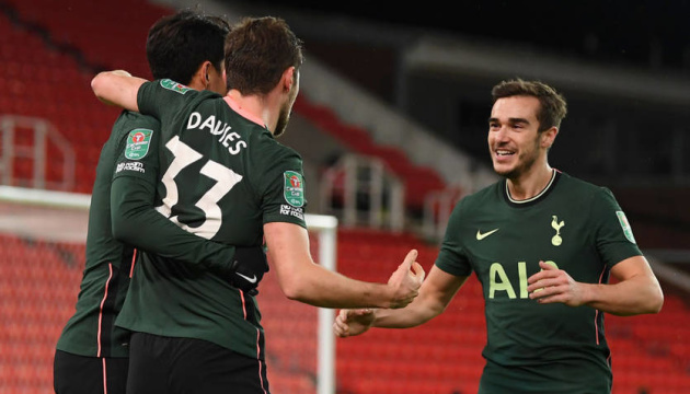 «Тоттенгем» вийшов до півфіналу Кубка англійської ліги
