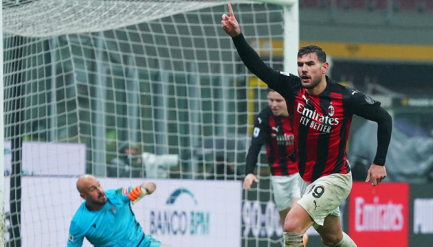 «Милан» вырвал победу у «Лацио» и продолжает лидировать в итальянской Серии А