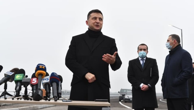 Zelensky wants to unite west and east of Ukraine with big highway