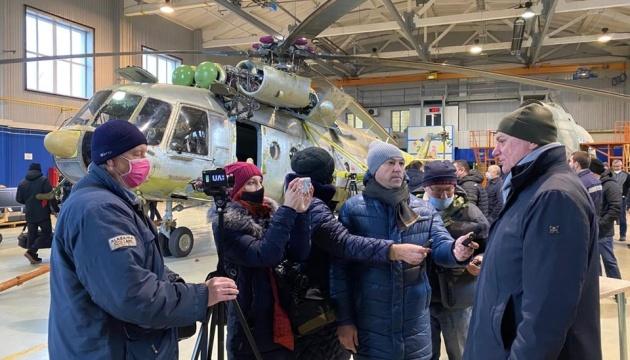 Україна увійшла до п'ятірки держав-виробників лопатей до важких гелікоптерів