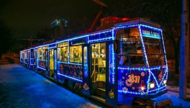 Вулицями Житомира на католицьке Різдво курсуватиме музичний трамвай