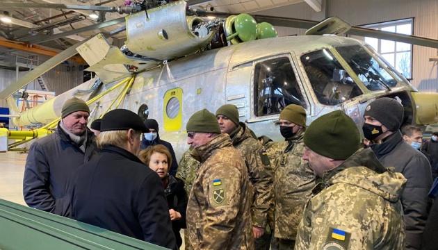 Хомчак взяв участь у випробуваннях Мі-24 з українськими деталями