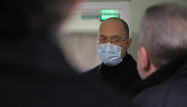 Шмигаль привіз Вифлеємський вогонь до лікарні в Новій Каховці