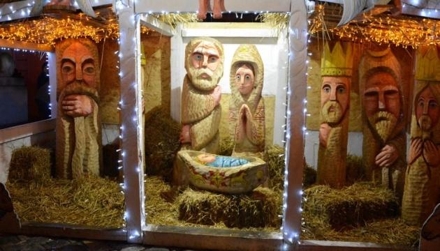 У Львові відкрили інтерактивну різдвяну шопку