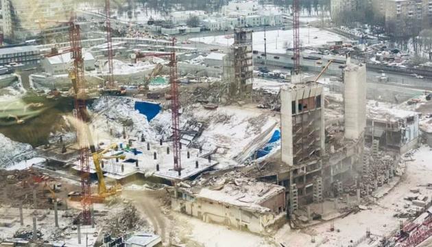 У Москві знесли «Олімпійський», де перемагали Кличко і Усик
