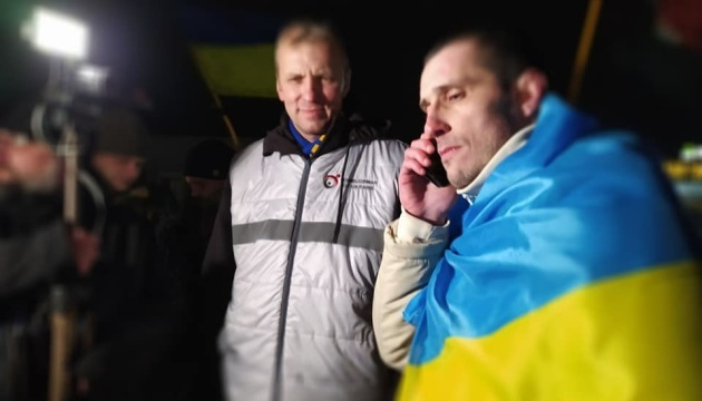 Political prisoner Shumkov returns to Ukraine