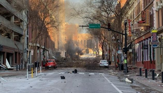 За інформацію про вибух у Нешвіллі пообіцяли винагороду в понад $300 тисяч