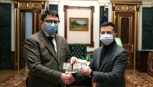 Selenskyj ernennt Leiter der Gebietsverwaltung Iwano-Frankiwsk