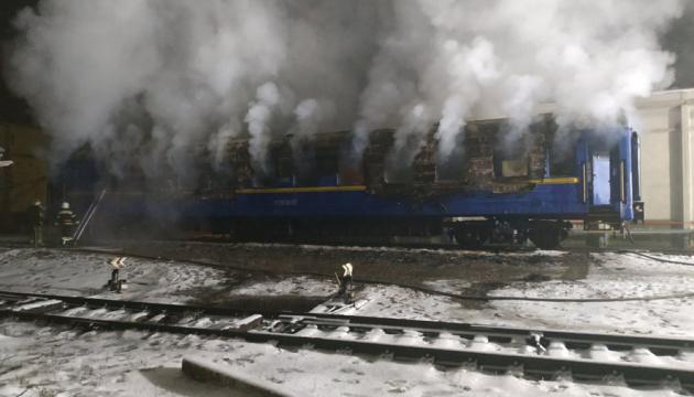 На Полтавщині загорівся вагон потягу, двоє осіб загинули