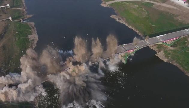 В Китае подорвали 760-метровый мост