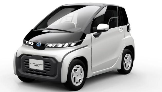 Всього 130 сантиметрів: Toyota представила ультракомпактний електрокар