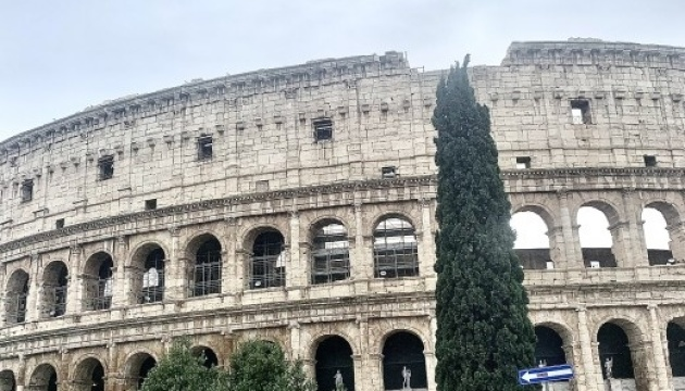 Ukrainian-language audio guide launched in Colosseum