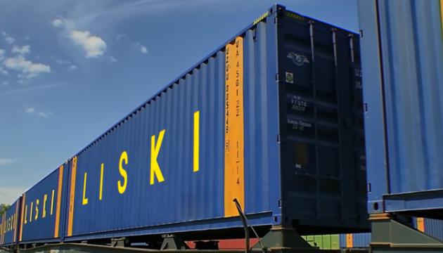 Укрзалізниця цьогоріч прийняла 22 контейнерні поїзди з Китаю
