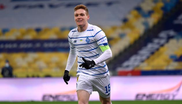 Tsygankov, el mejor jugador de la Liga Premier de Ucrania en 2020