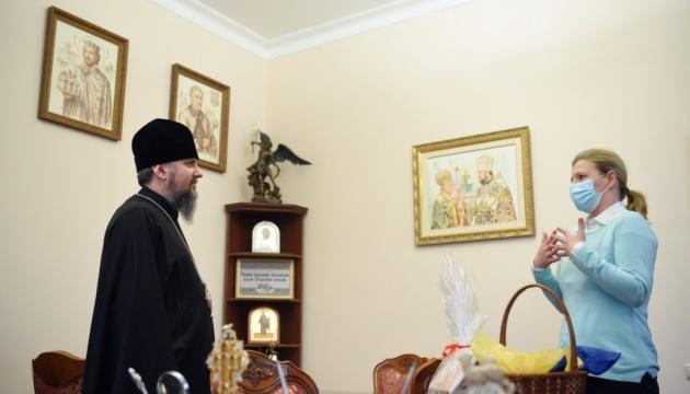 Лапутина встретилась с Епифанием: говорили о реабилитации и помощи ветеранам