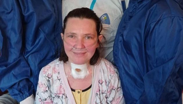 Відключили від ШВЛ: у Львові одужує багатодітна матір, в якої COVID-19 вразив 90% легень