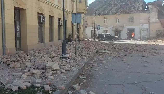 Украинцы не пострадали от землетрясения в Хорватии - посол