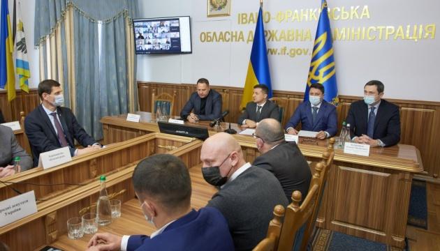Зеленський на Франківщині представив нового голову ОДА