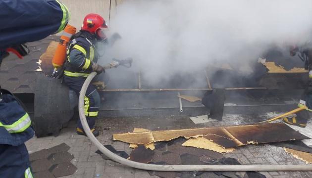 В Ривном произошел пожар в ТЦ - среди эвакуированных 30 детей