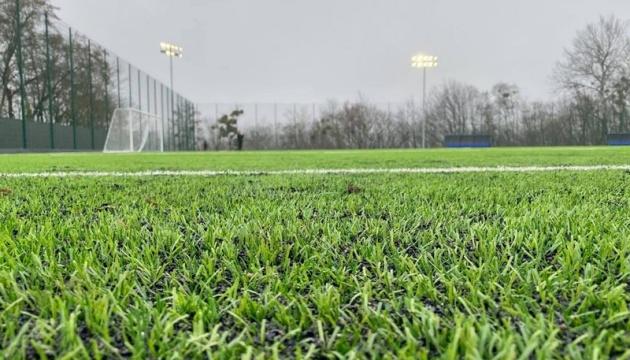 У вінницькому коледжі відкрили новий стадіон