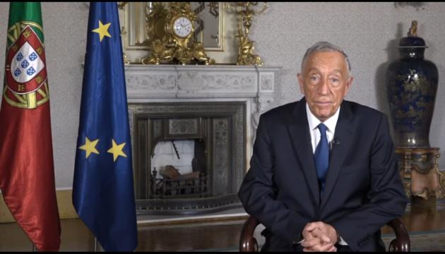 Президент Португалії подякував українській громаді в новорічному привітанні