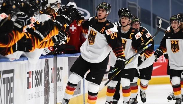 Хокей: Німеччина вперше гратиме у плей-офф молодіжного чемпіонату світу