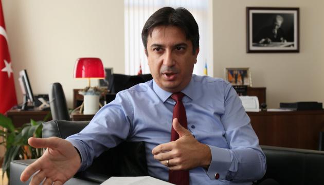Umowa o wolnym handlu wzmocni gospodarki Ukrainy i Turcji – ambasador