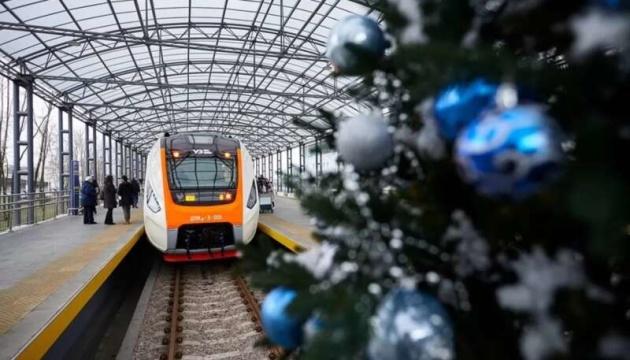 Новий рік у потягах зустрінуть понад 5,4 тисячі пасажирів