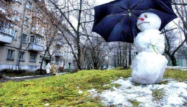 В Украине сегодня - гололед, мокрый снег и дождь
