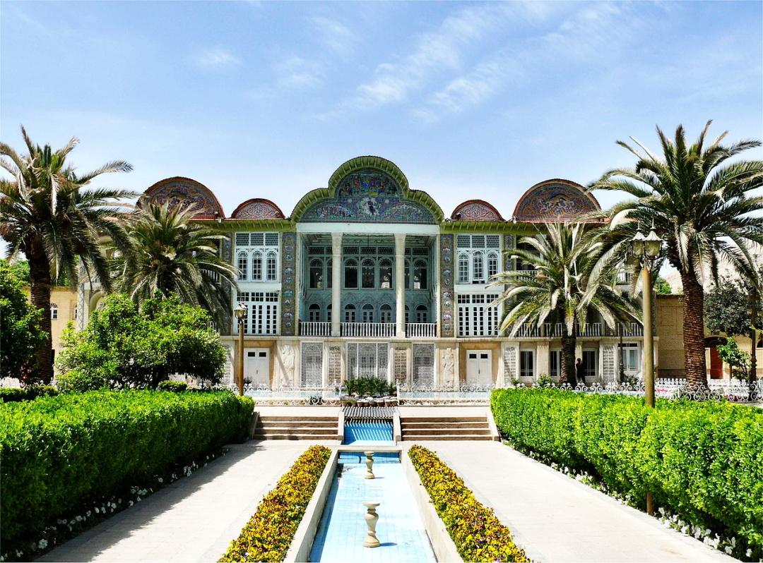 Павільон шаха в саду Ерам, Тегеран, сучасне фото