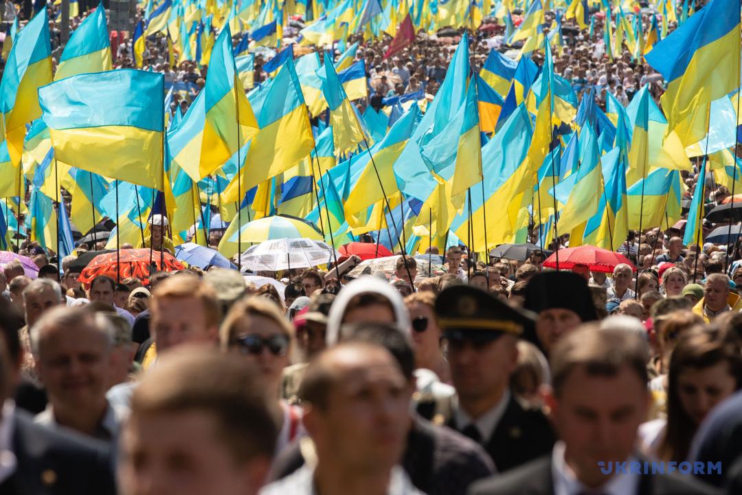 Хресна хода УПЦ КП з нагоди 1030-річчя хрещення Київської Русі-України у столиці