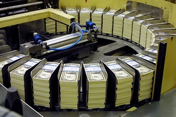 У США за 2020 рік надрукували близько $10 трлн