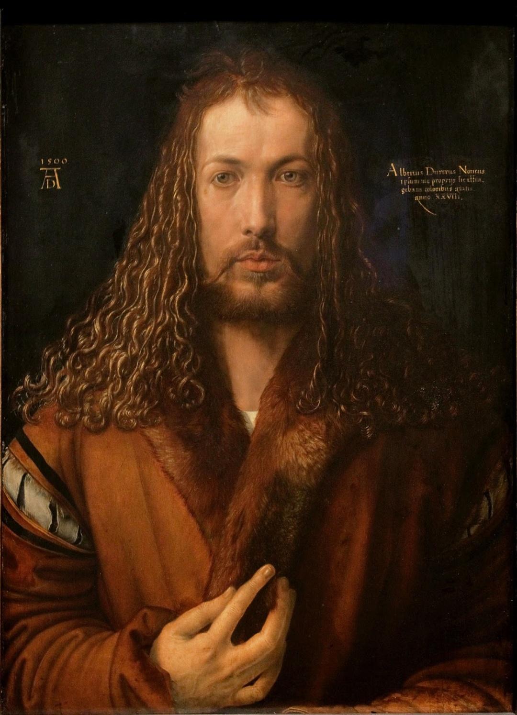 Автопортрет в образі Христа, 1500 р.