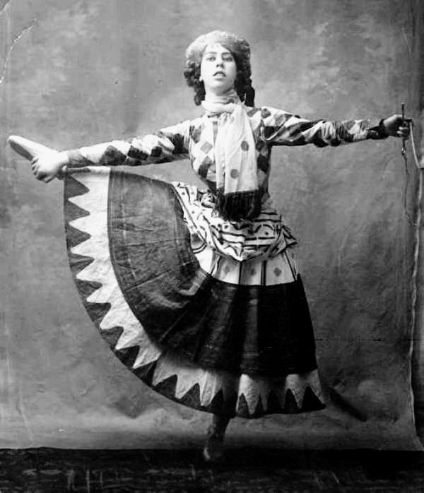 За лаштунками балету Петрушка, 1911 р.