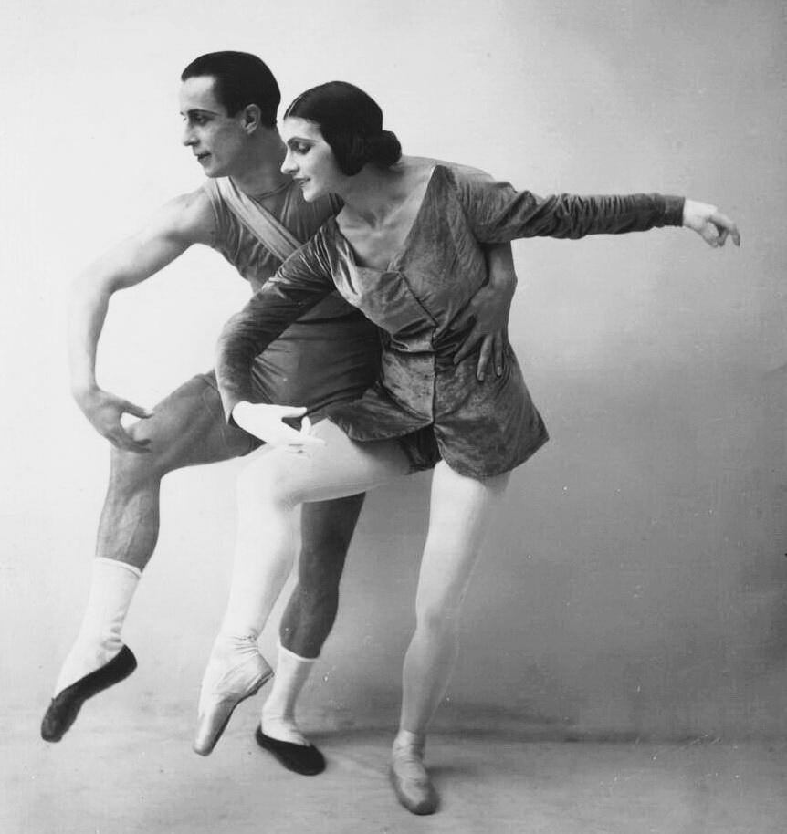 Анатоль Вільзак і Віра Немчинова в балеті