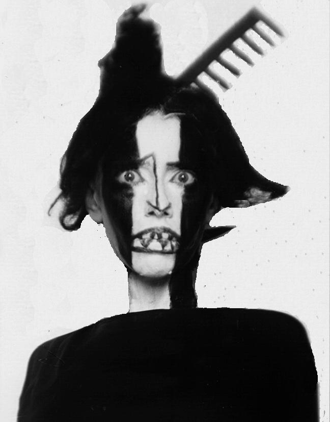 Сюрреалістичний портрет Броніслави Ніжинської, Ман Рей, Париж, 1922 р.