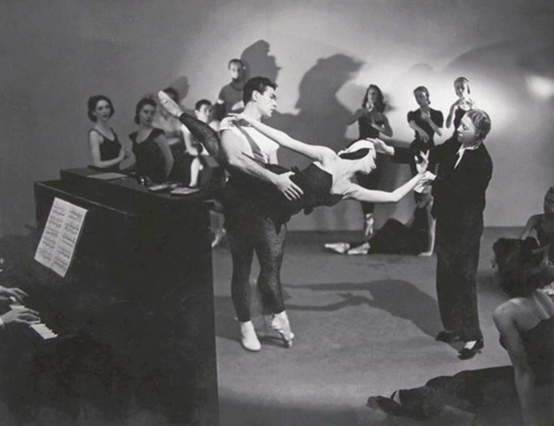 На репетиції, фото Джона Роулингс, 1935 р