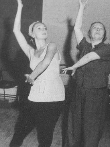 Приватний урок з Іриною Бароновою, 1935 р.