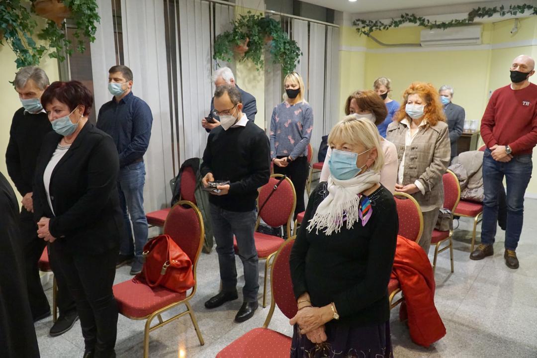 Українська православна Різдвяна Літургія в Будапешті