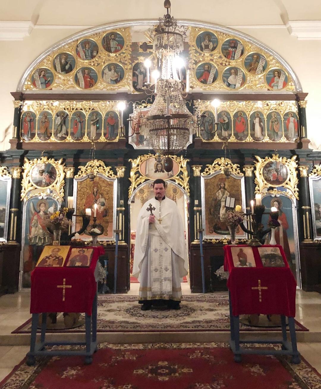 Українська Православна Різдвяна Літургія в Сентеші