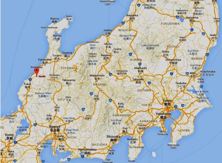 Город Комацу, префектура Исикава