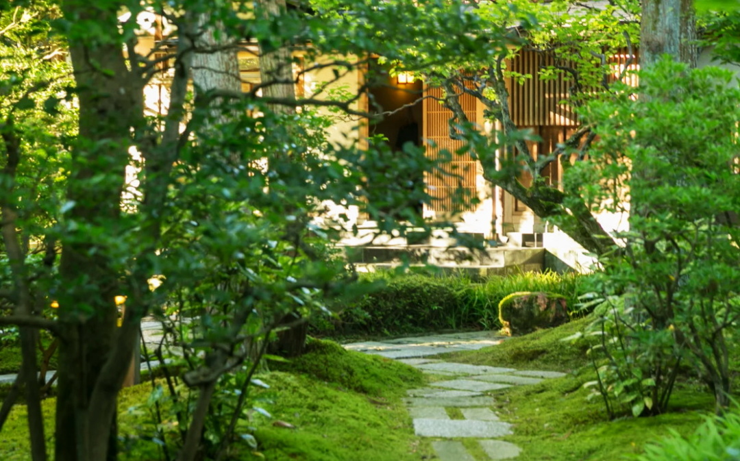 японский сад, которому 400 лет