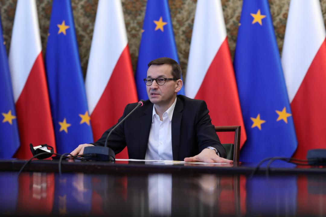 Матеуш Моравецький / Фото: Kancelaria Premiera