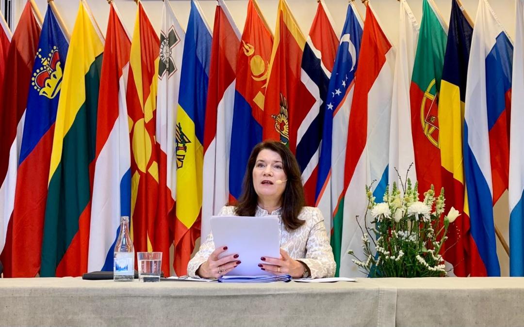 Анн Лінде / Фото: OSCE