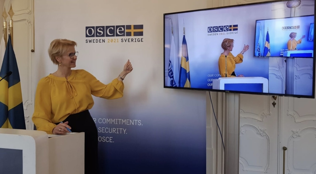 / Фото: Swedish OSCE Chairpersonship 2021