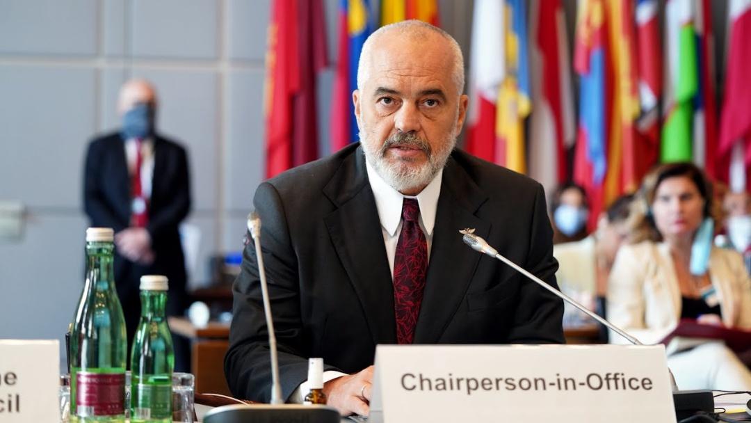 Еді Рама / Фото: OSCE